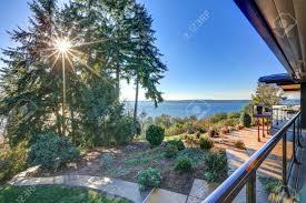 100 Panorama House Modern Two Story Panorama House With Wraparound Deck Sunset