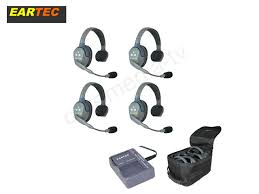Eartec UltraLITE 4 Users Wireless Headset System Single