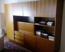 wohnzimmer schrank 1960er jahre nußbaum kleiderschrank
