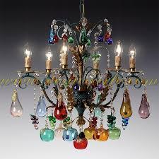 bacco murano glass chandelier