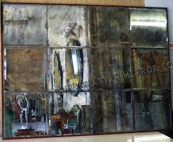 distressed mirror tiles table tops australian made