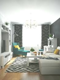 jugend style skandinavisch geometrisch teppich weiß türkis