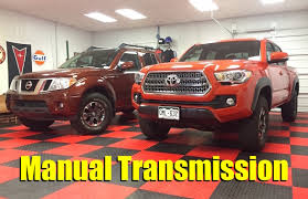 100 Diesel Small Truck Comprehensive List Of 2018 Pickup S With A Manual Transmission