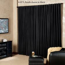 Burgundy Grommet Blackout Curtains by Curtain Touch Of Class Curtains For Elegant Home Decorating Ideas