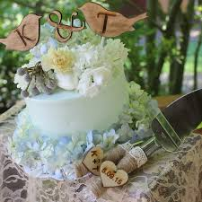 Wedding Cake Knife Rustic Decor Cutter Personalized Serving Set Server