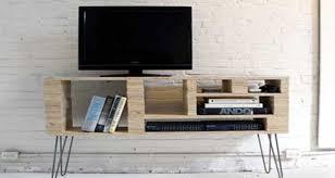 diy déco pour fabriquer un meuble tv original et pas cher