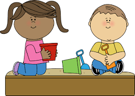 Students Playing Inside Clipart