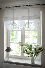 Smocked Burlap Curtains By Jum Jum by Simple Valance Idea With Lots Of Impact From Beverly Feltner Via