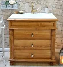 waschbecken mit unterschrank landhaus badmöbel nostalgie