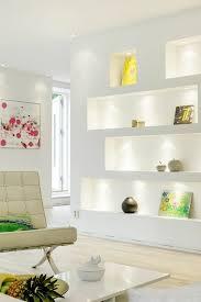 wanddeko wohnzimmer dekorative wandnischen archzine net