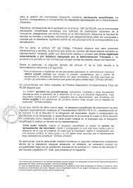 Mexico Simple Poder Carta Formato