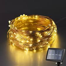 kootek 150 led 72ft solar powered led fairy string lights