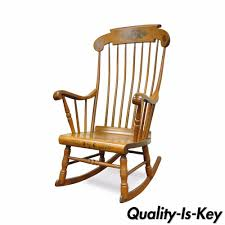 Vintage S Bent Bros Colonial Windsor Solid Maple Harvest Rocker ... An Early 20th Century American Colonial Carved Rocking Chair H Antique Hitchcock Style Childs Black Bow Back Windsor Rocking Chair Dated C 1937 Dimeions Overall 355 X Vintage Handmade Solid Maple S Bent Bros Etsy Cuban Favorite Inside A Colonial House Stock Photo Java Swivel With Cushion Natural 19th Century British Recling For Sale At 1stdibs Wood Leather Royal Novica Wooden Chairs Image Of Outdoors Old White On A Porch With Columns Rocker 27 Kids