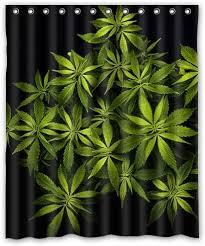 cannabis marihuana blätter in schwarz tapete