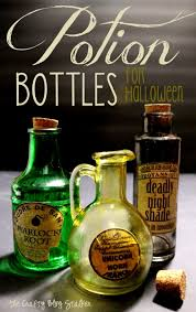 Scary Halloween Props To Make by How To Make Potion Bottles For Halloween The Crafty Blog Stalker