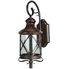bellagio 16 1 2 high downbridge outdoor wall light wall porch