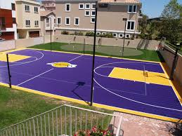 Fine Design Backyard Basketball Court Cost Amazing Pictures Of ... Home Basketball Court Design Outdoor Backyard Courts In Unique Gallery Sport Plans With House Design And Plans How To A Gym Columbus Ohio Backyards Trendy Photo On Awesome Romantic Housens Basement Garagen Sketball Court Pinteres Half With Custom Logo Built By Deshayes