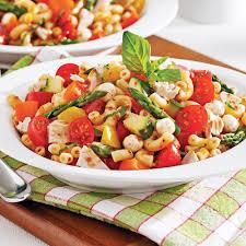salade de pâtes sans gluten au thon et aux légumes recettes