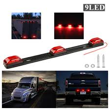 100 Lights For Trucks Details About New 14 Inch Trailers Trucks RV Rear Tailgate Lights Red Side Marker Lamp 9 LED