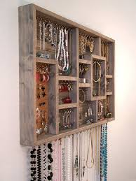 Wall Jewelry Organizer Pilotproject Org Pertaining To Holder Prepare 7