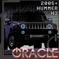 2005 2010 Hummer H3 LED Fog Light Halo Kit by Oracle™ – NFC