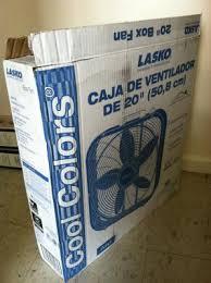 lasko cool colors 20 box fan walmart com