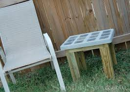 DIY Tile and Cement Side Table DontTrashIt sensiblysara
