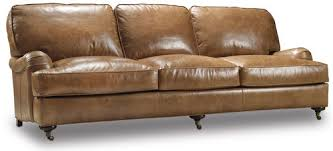 Bradington Young Sheffield Leather Sofa by Bradington Young Leather Sofa Sofas