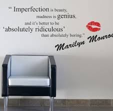 Ebay Wall Decor Quotes by Marilyn Monroe Quotes Wall Decals Quotes