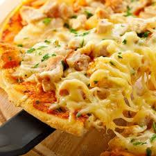 Fiesta Chicken Pizza With Homemade Dough Recipe