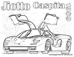 Sports Car Coloring Pages For 586270 Free 2015