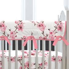 Cherry Blossom Curtain Panels by Cherry Blossom Crib Bedding Carousel Designs