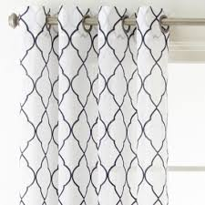 Grommet Top Curtains Jcpenney by Jcpenney Home Bayview Embroidery Sheer Grommet Top Curtain Panel