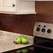 fasade backsplash hammered in rubbed bronze