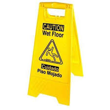 Banana Wet Floor Sign by Awesome Wet Floor Signs Janitorial Supplies The Home Depot For Wet