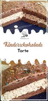 kinderschokolade torte 1k rezepte