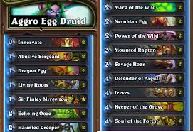 Hearthstone Decks Druid Combo by What Are The Most Fun To Play Decks For Druid In Hearthstone Quora