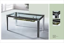 Walmart Glass Dining Room Table by Luxurious Clear Glass Top Rectangle Walmart Dining Table Simple