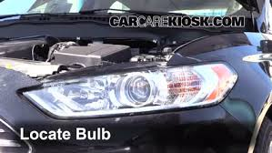 headlight change 2013 2016 ford fusion 2013 ford fusion se 2 0l