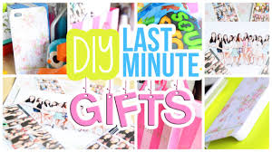 ♡ Quick Easy & Cheap DIY Last Minute Gifts For Friends Etc