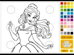 Watch Gallery Website Princess Coloring Book Games