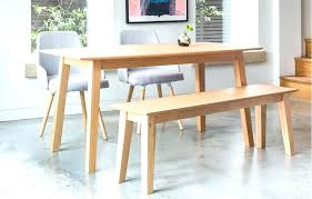 Full Size Of Wood Dining Table With Bench Seating Furniture Wooden Seat Back Article Tag Set