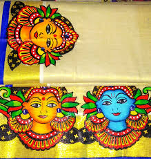 Famous Kerala Mural Artists by Kerala Saree Devotionalstore