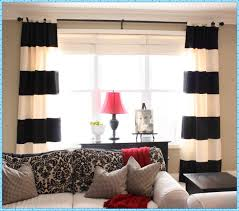 Waterfall Valance Curtain Set by Primitive Curtains For Living Room Burlap Valance Curtains