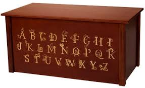 buy wooden toy box or toy chest personalized toy box