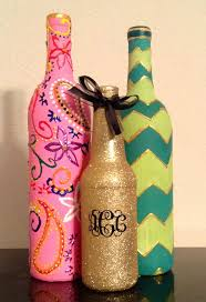 Decorative Wine Bottles Ideas by 208 Best Pretty Wine Bottles Images On Pinterest Decorated