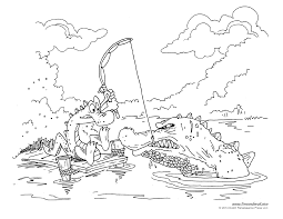 Alligator Coloring Pages 02