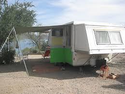 Vintage Restored 1977 Apache Ramada Pop Up Camper Hard Side Solid State Popup