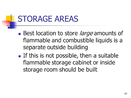 Flammable Liquid Storage Cabinet Location by Understanding Its Causes Ppt Video Online Download