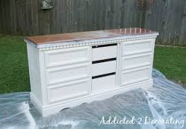 How To Paint Distress And Antique A Piece Of Furniture